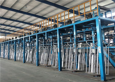 Wire 1.6-4.2mm Wire Mesh Making Machine , Hot Dip Galvanizing Line For High Zinc Wire