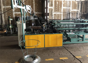 Heavy Duty Double Wire Feeding Wire Fence Machine Chan Link Making Machine